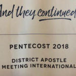 PENTECOST 2018, WASHINGTON DC, USA