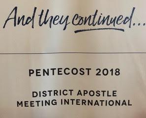 PENTECOST 2018, WASHINGTON DC, USA